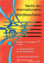 Flyer Nacht der internationalen Kirchenchöre 2016